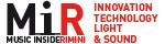 Logo della manifestazione MiR - Music Inside Rimini