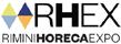 Logo della manifestazione RHEX - Rimini Horeca Expo *